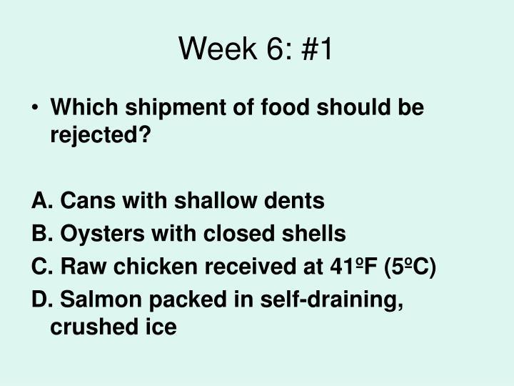 Week 6: #1