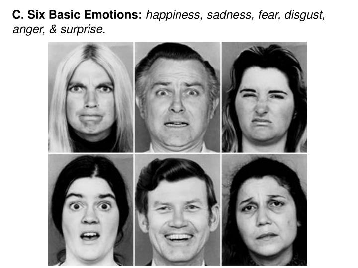 C. Six Basic Emotions: