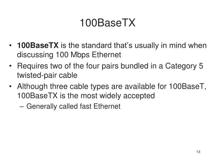 100BaseTX