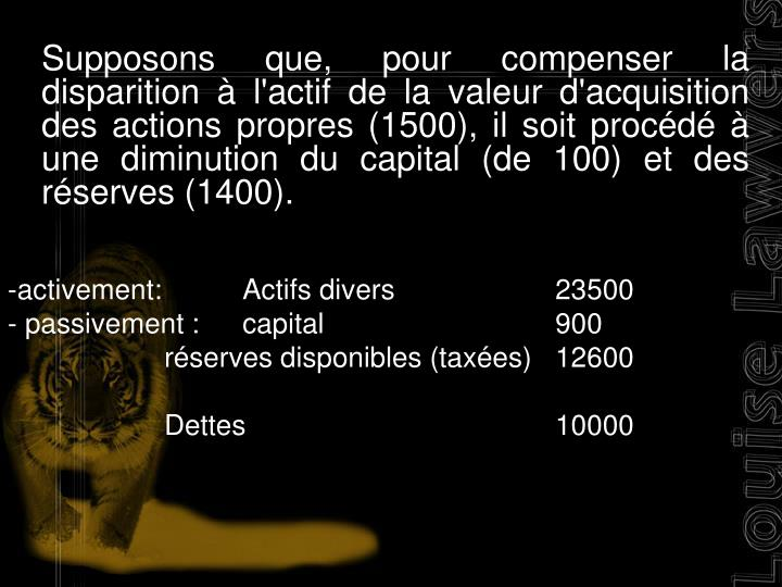activement:Actifs divers23500