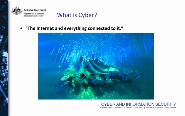 What is Cyber?