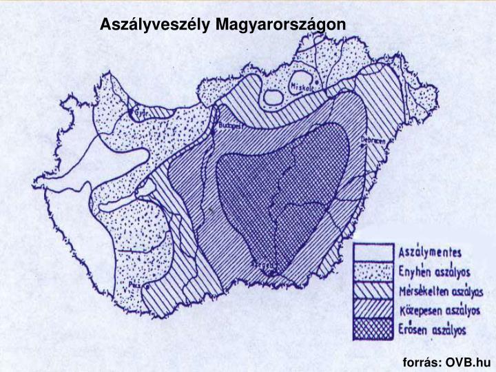 Aszályveszély Magyarországon