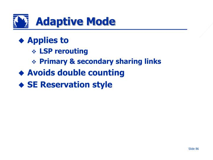 Adaptive Mode