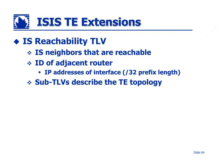 ISIS TE Extensions