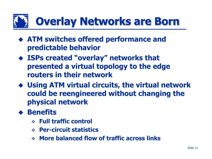 Overlay Networks are Born