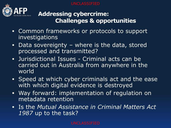 addressing cybercrime Theme - addressing cybercrime q1:  the public on cybercrime and how to protect themselves through industry best practices 2.