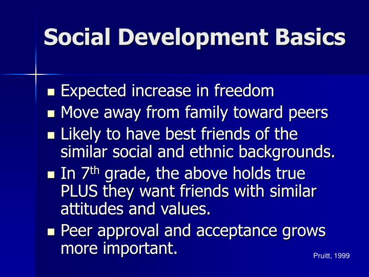 Social Development Basics