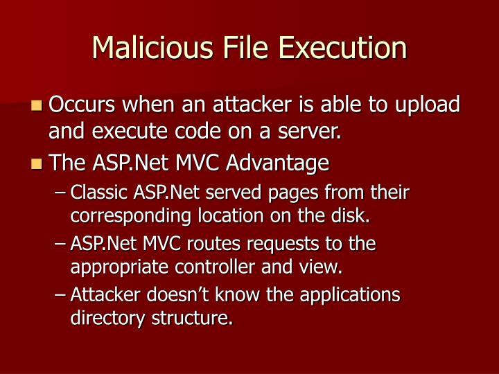 Malicious File Execution