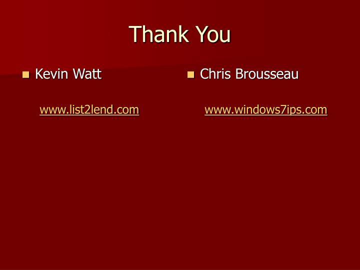 Kevin Watt