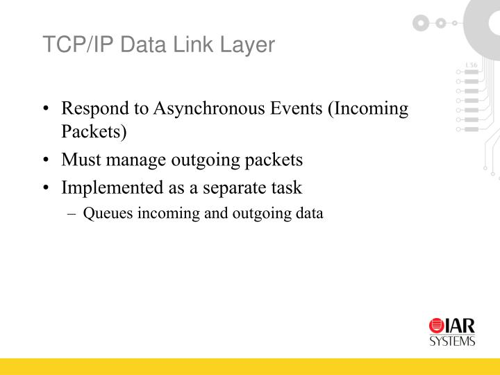 TCP/IP Data Link Layer