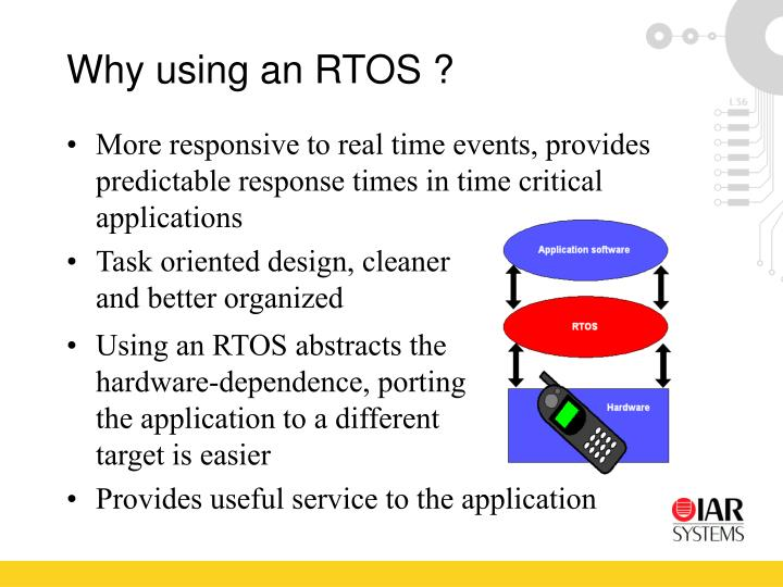 Why using an RTOS ?