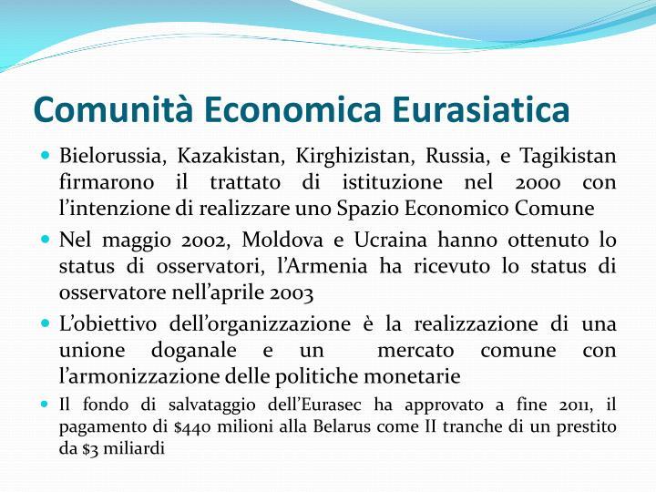 Comunità Economica Eurasiatica