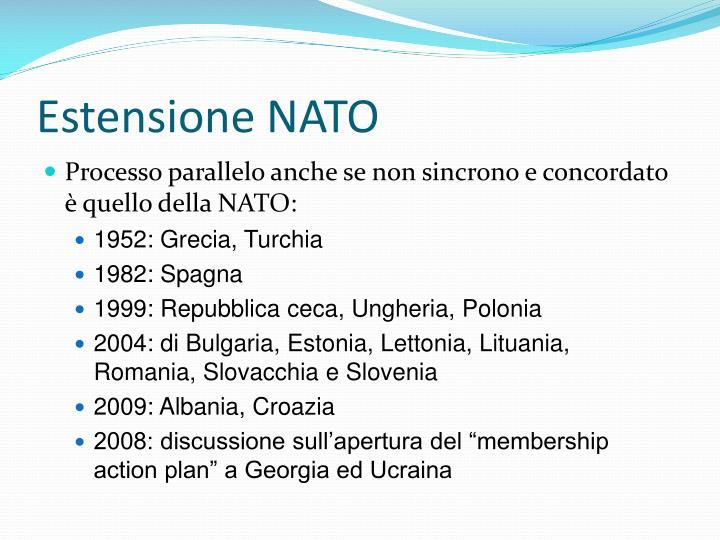 Estensione NATO