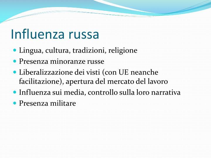 Influenza russa