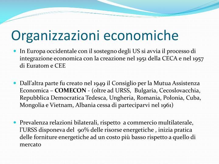 Organizzazioni economiche