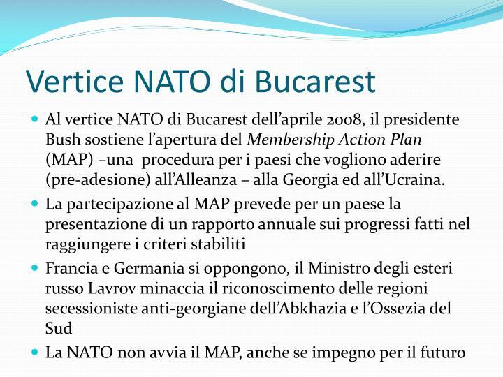 Vertice NATO di Bucarest