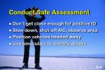 conduct safe assessment1