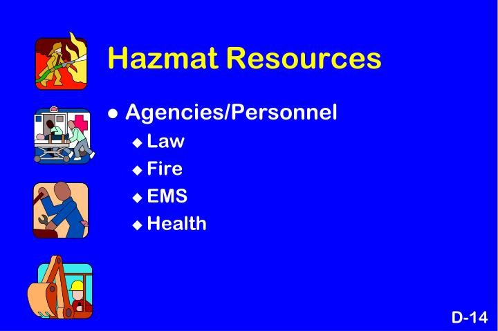 Hazmat Resources