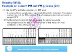 results iii ix example on current pm and fm process 2 3