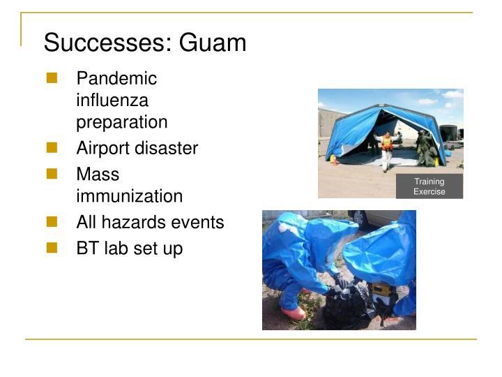 Successes: Guam
