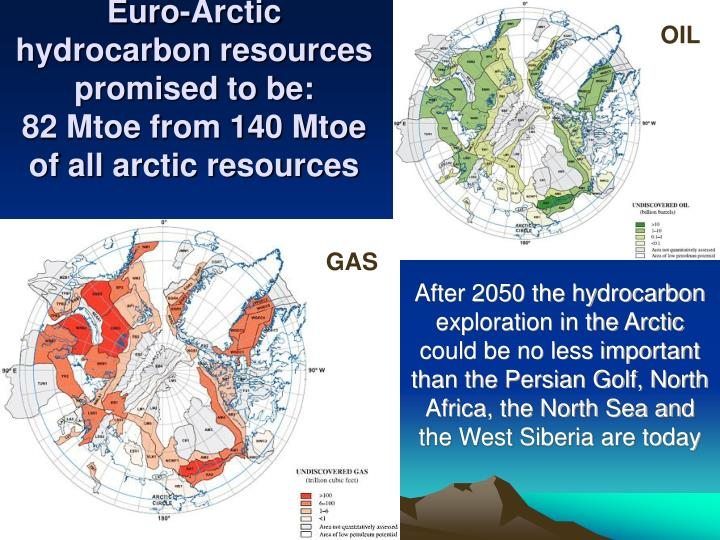 Euro-Arctic hydrocarbon resources promised to be: