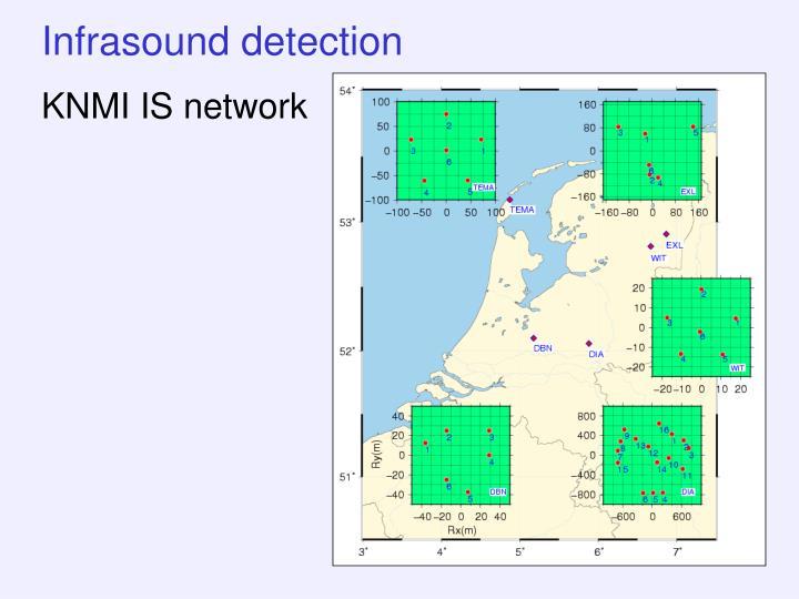 Infrasound detection