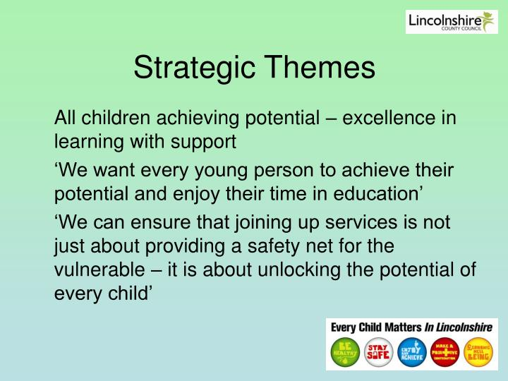 Strategic Themes