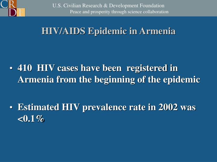 HIV/AIDS Epidemic in Armenia
