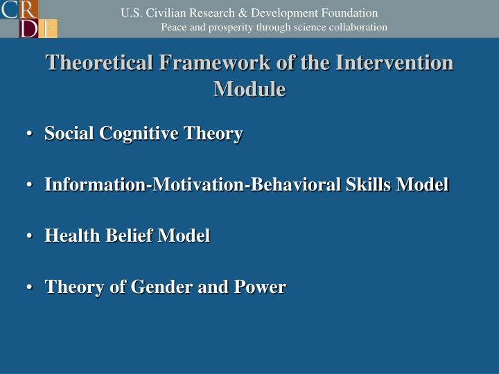 Theoretical Framework of the Intervention Module