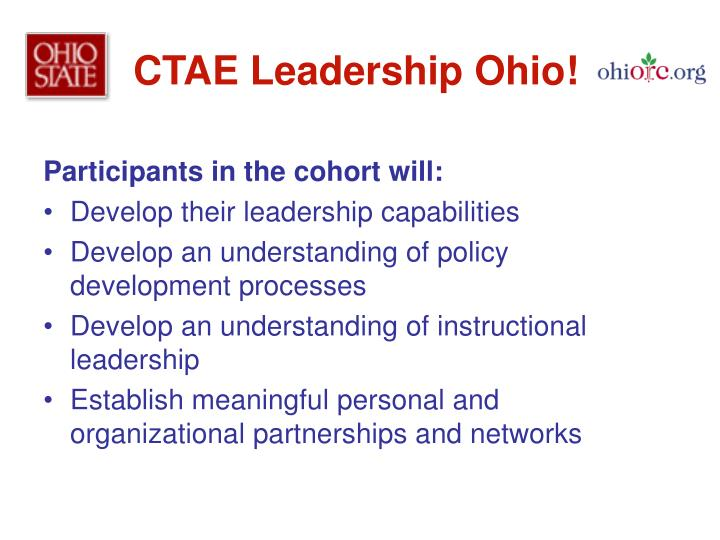 CTAE Leadership Ohio!