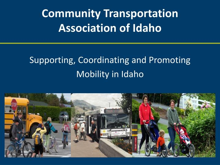 Community transportation association of idaho