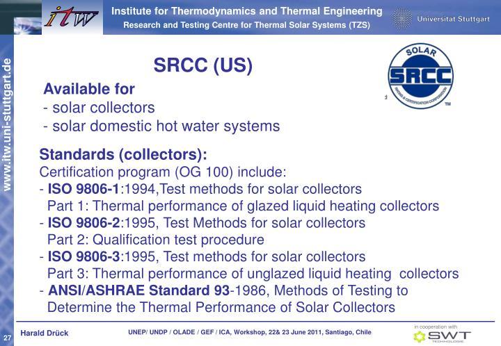 SRCC (US)