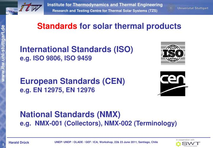 International Standards (ISO)