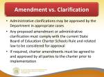 amendment vs clarification1