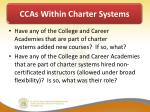 ccas within charter systems1