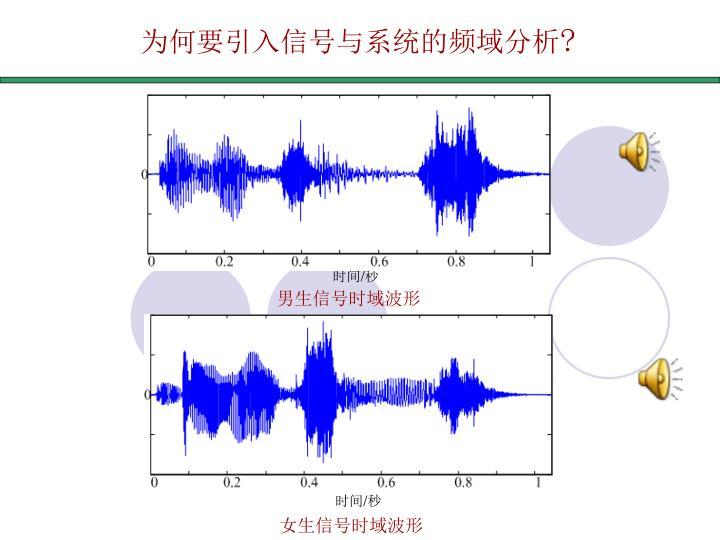 为何要引入信号与系统的频域分析