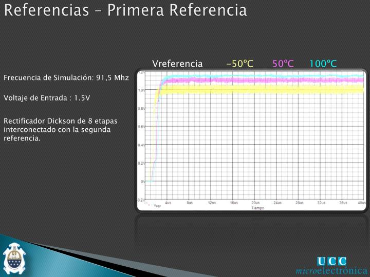 Referencias – Primera Referencia