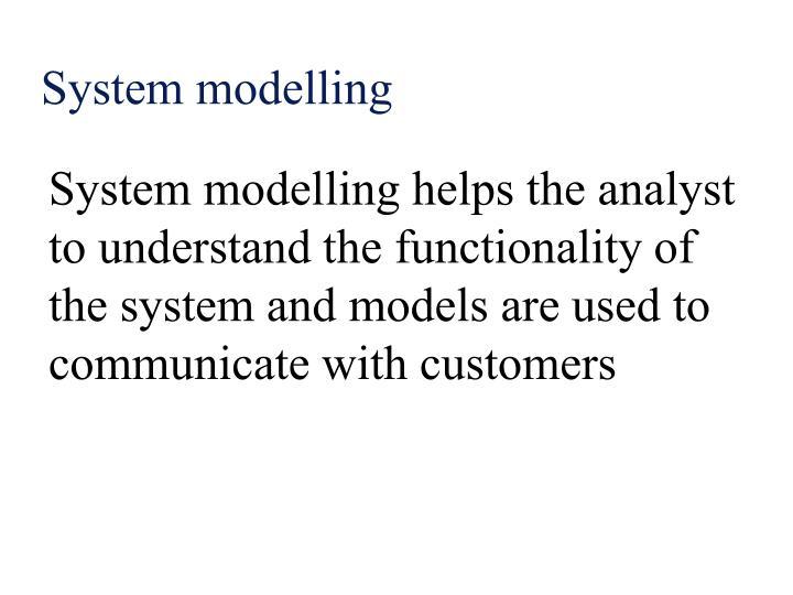 System modelling