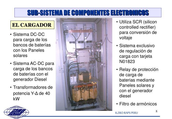 SUB-SISTEMA DE COMPONENTES ELECTRONICOS