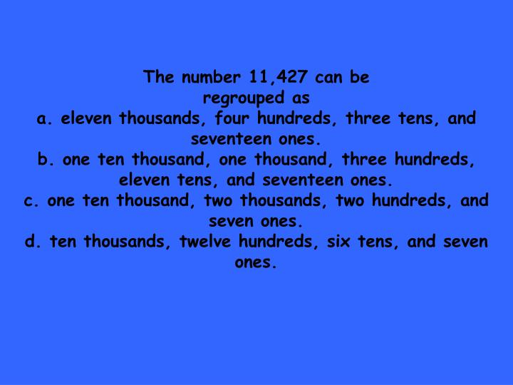 The number 11,427 can be