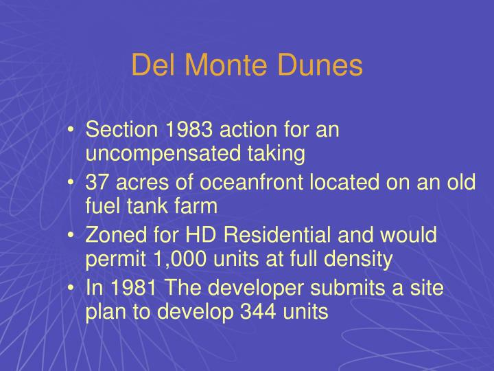 Del Monte Dunes