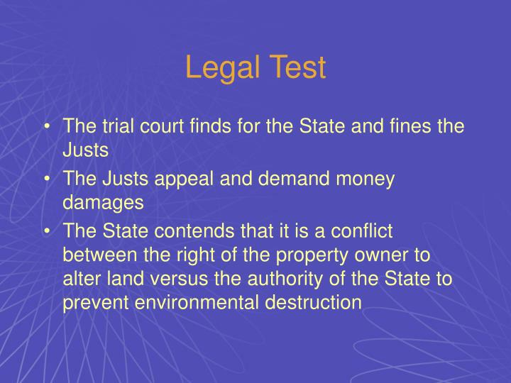 Legal Test