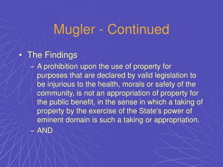 Mugler - Continued