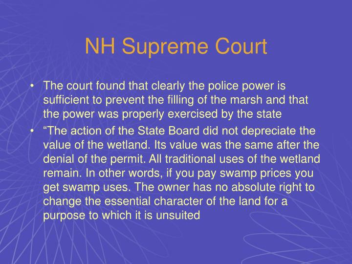 NH Supreme Court