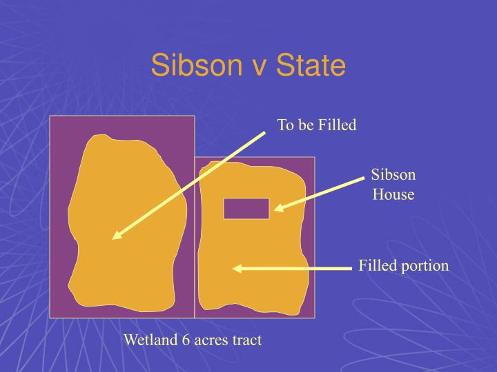 Sibson v State