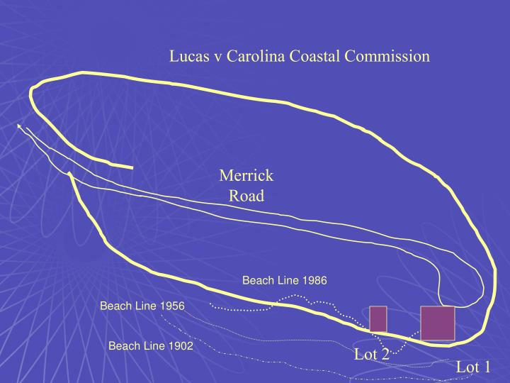 Lucas v Carolina Coastal Commission
