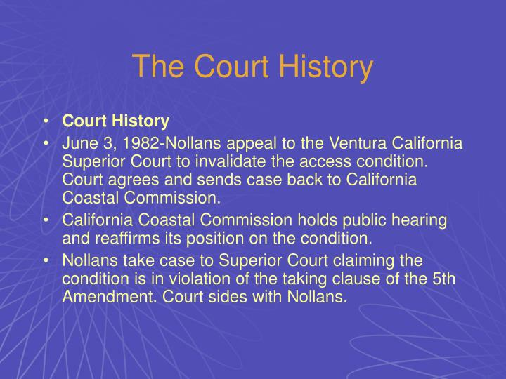 The Court History