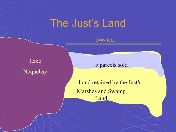 The Just's Land