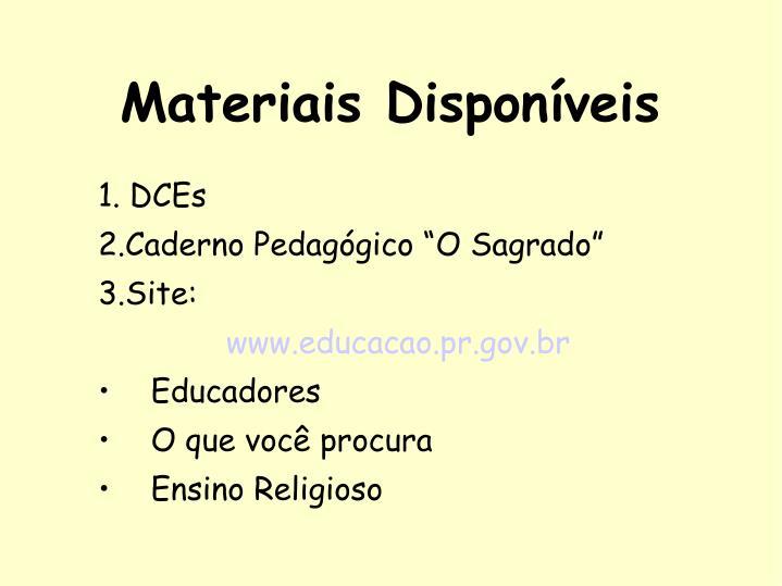 1. DCEs