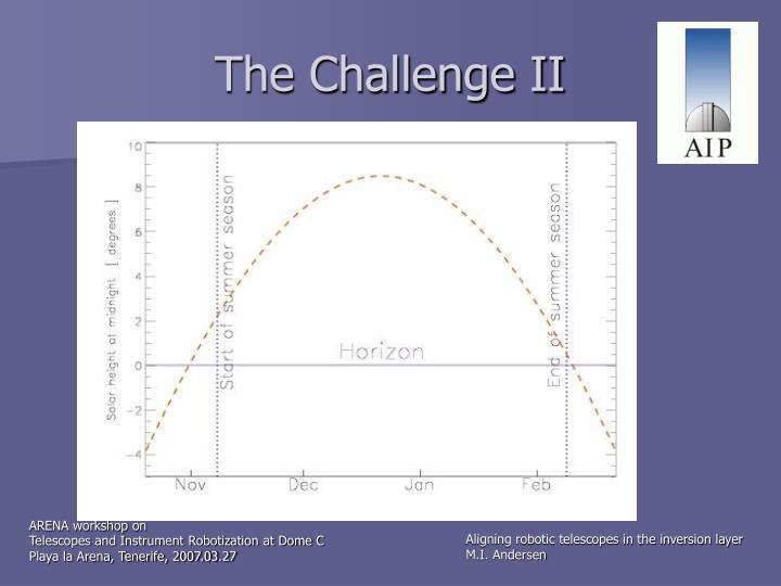 The Challenge II